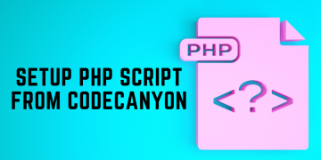 Setup PHP Script From CodeCanyon