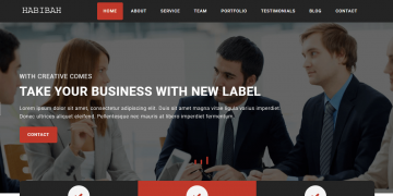 HABIBAH – Business / Personal Portfolio PHP Full Functional Application